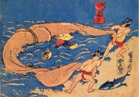 tanuki-fishing